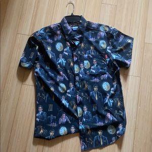 The Office Threat Level Midnight Hawaiian Shirt